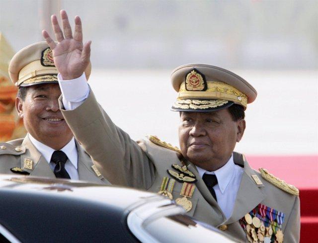 Than Shwe, Líder supremo de la junta militar Birmana (Myanmar)