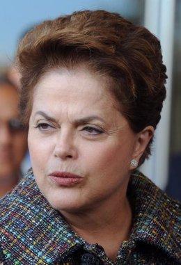 Dilma Rousseff, candidata a la Presidencia de Brasil por el Partido de los Traba