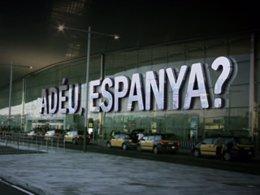 Cabecera del programa de TV3 'Adéu, Espanya?'.