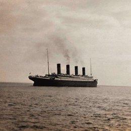 Antigua fotografia del Titanic