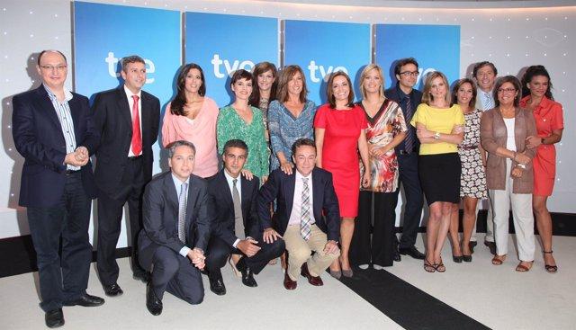 El nuevo equipo de TVE