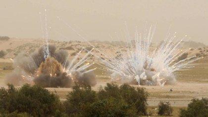 Dos heridos por un bombardeo israelí sobre Gaza