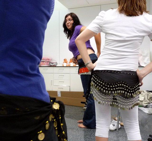 Danza del vientre mujeres embazaradas