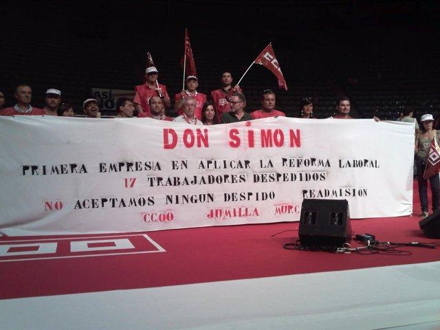 Protesta contra Don Simón