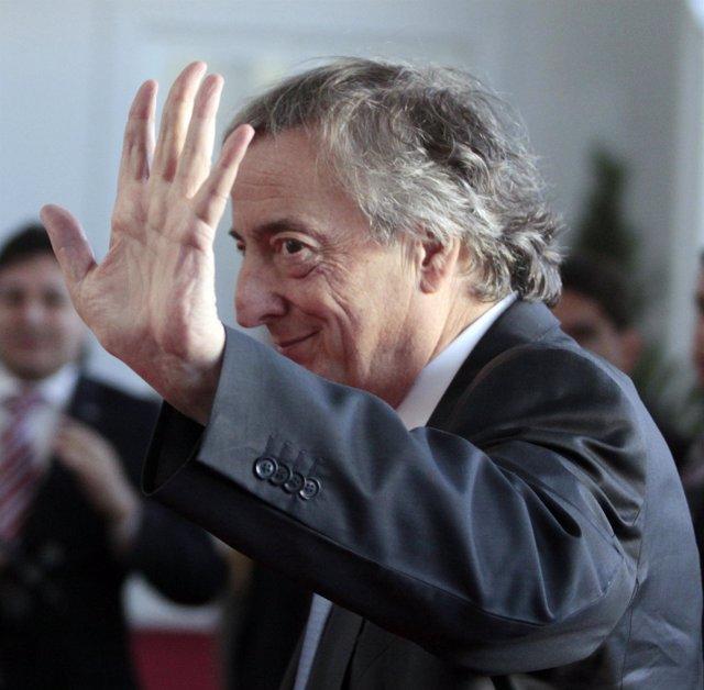 Néstor Kirchner, secretario general de la UNASUR