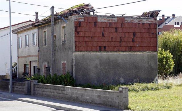 Inmueble en ruina del Barrio La Torre