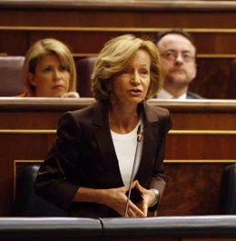 Vicepresidenta económica del Gobierno, Elena Salgado