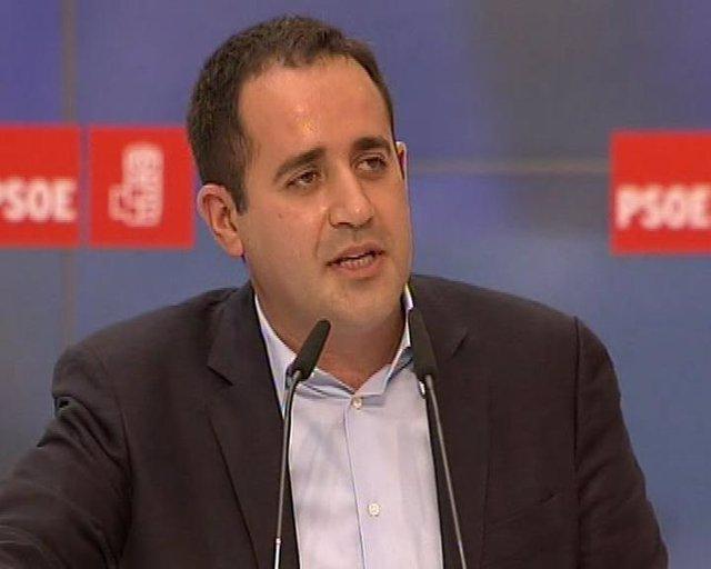 Jorge Alarte critica el Gobierno de Camps