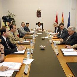 Mesa y Junta, portavoces de Navarra