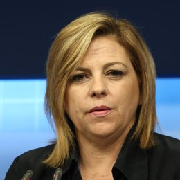 secretaria de Política Internacional del PSOE, Elena Valenciano