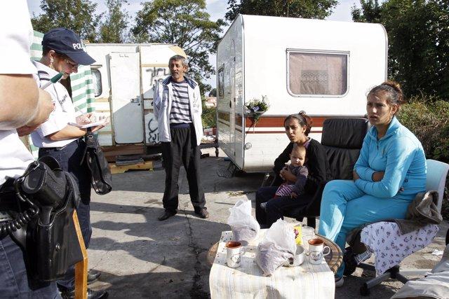 Expulsiones de gitanos en Francia