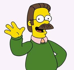Ned Flanders, personaje de Los Simpson