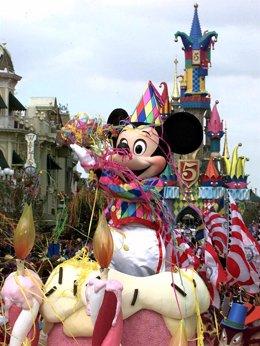 Imagen del parque de Euro Disney en París
