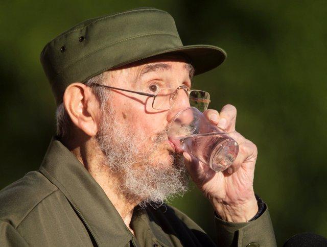 CUBA-CASTRO/ Fidel da uun discurso