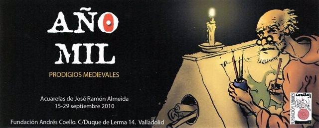 Cartel de la muestra 'Año Mil'