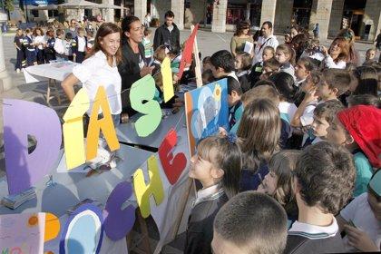 Escolares participan en talleres dentro de la Semana Europea de la Movilidad Sostenible