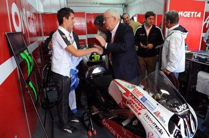 """Biel cree que el """"alma"""" del circuito """"tienen que ser pilotos aragoneses como Pedro Rodríguez"""""""