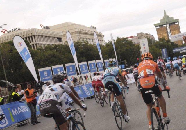 Vuelta Ciclista a España a su paso por Madrid