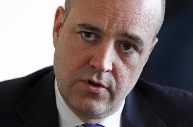 Fredrik Reinfeldt, presidente de Suecia