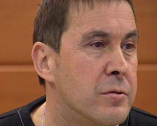 Rueda de prensa de Otegi, tras la suspensión del juicio