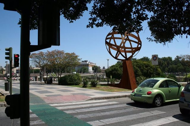 Recreación virtual de cómo va a quedar el monumento.