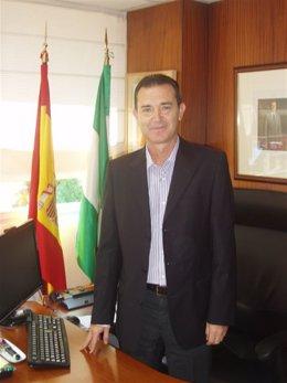 El delegado provincial de Economía, Innovación y Ciencia de Almería, Juan Carlos