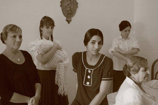 Rodaje de la película interpretada por el Grupo de Teatro Comunitario de Alcalá