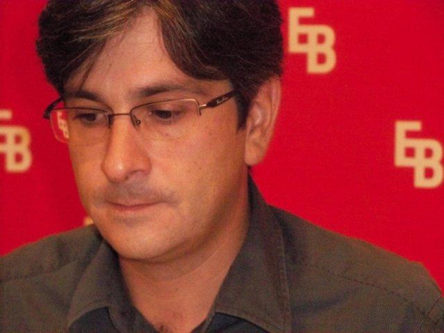 El coordinador general de EB-Berdeak, Mikel Arana.