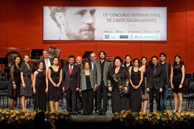 Choi Hyekyung y Julien Dran, ganadores del Concurso de Canto Julián Gayarre, aco