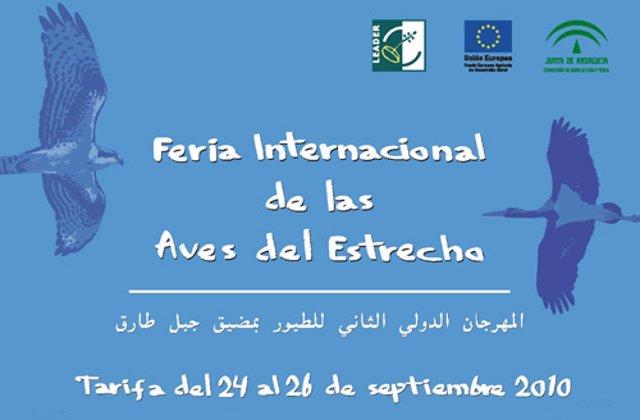 Cartel de la II Feria Internacional de las Aves del Estrecho