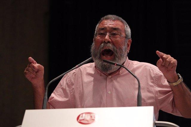 secretario general de la Unión General de Trabajadores (UGT), Cándido Méndez