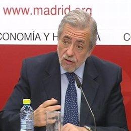 Antonio Beteta, Consejero de Economía de Madrid