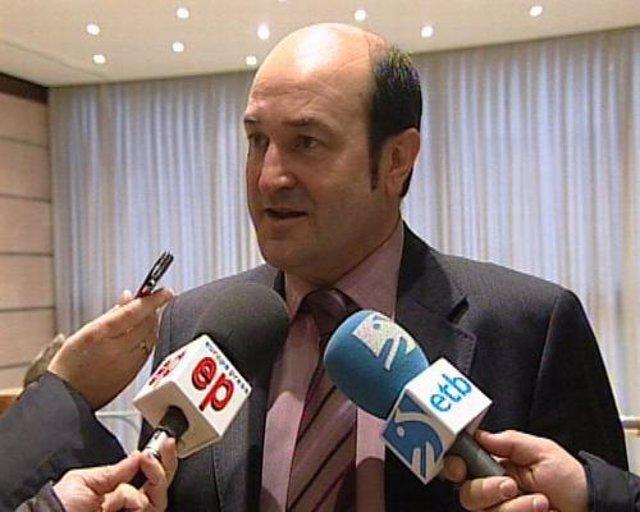 Presidente del PNV y nuevo parlamentario jeltzale, Andoni Ortuzar