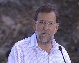 """Rajoy: El PP """"no se resigna a que haya 4,7 millones de parados"""""""