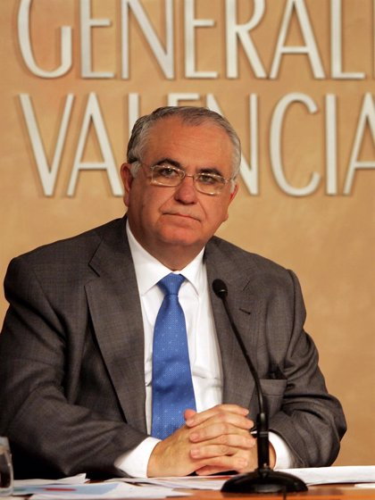 ATC.- Cotino asegura que el Consell emitió en abril un informe de oposición a la ubicación del almacén en Zarra