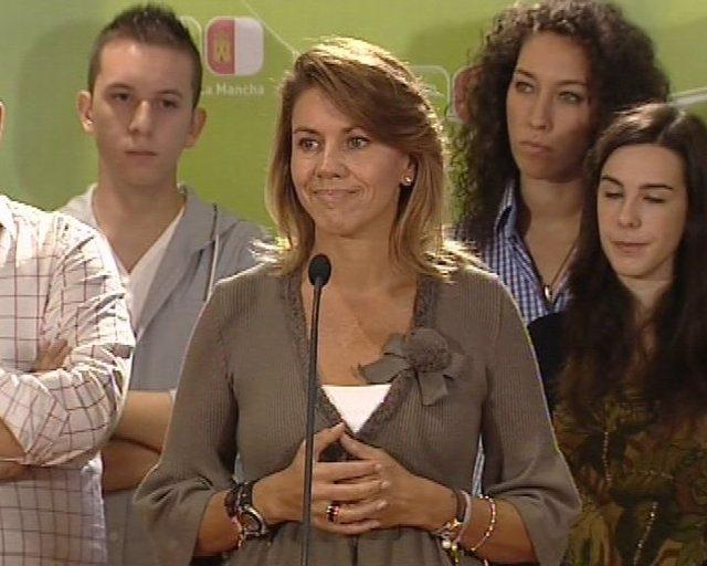 Cospedal pide defensa de la 'españolidad'