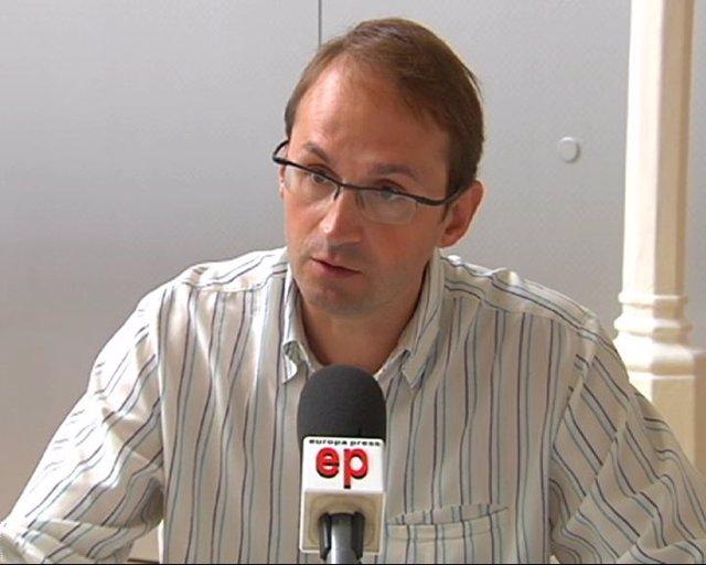 El candidato de ICV-EUiA a las catalanas, Joan Herrera.