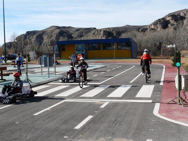 Imagen del Parque Infantil de Seguridad Vial de Calatayud