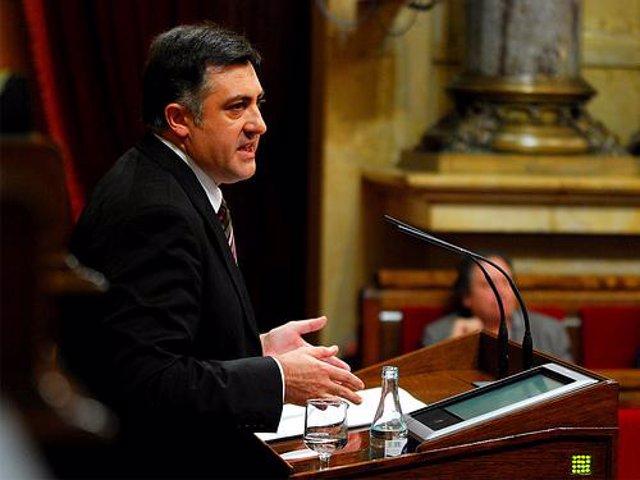 El presidente de ERC, Joan Puigcercós