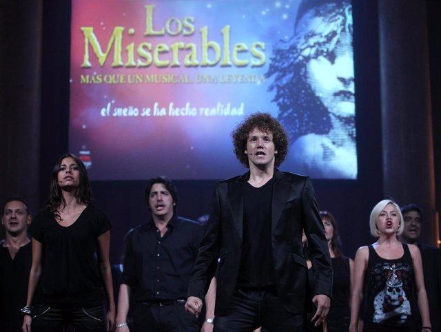 Daniel Diges en Los Miserables