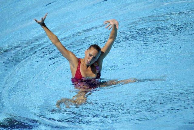 La nadadora española Gemma Mengual
