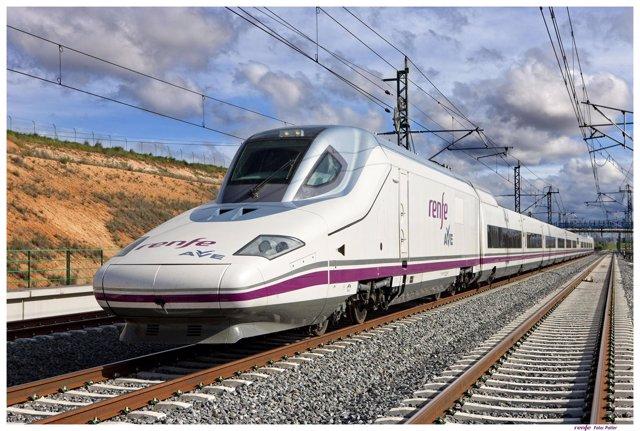Tren de alta velocidad AVE