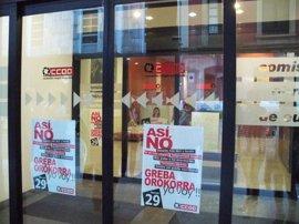 El País Vasco afronta su décima huelga general de la democracia