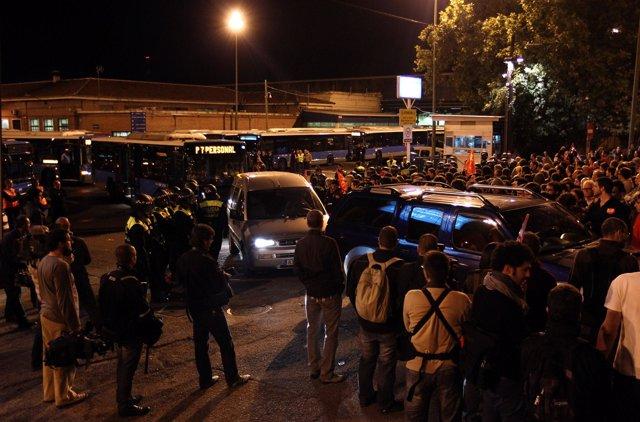 Huelga general en España