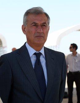 El delegado del Gobierno en Andalucía, Juan José López Garzón