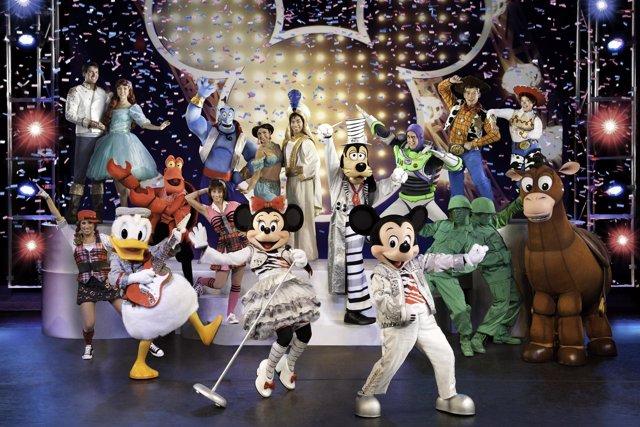 Disney Live! Mickey's Music Festival'.
