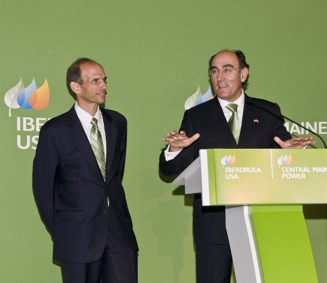 Presidente de Iberdrola, Ignacio Sánchez Galán, en Estados Unidos.