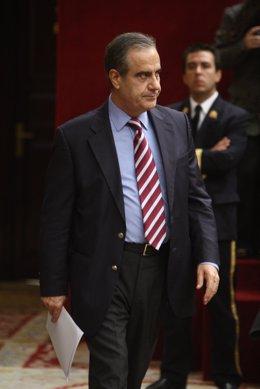 Celestino Corbacho, en el Congreso