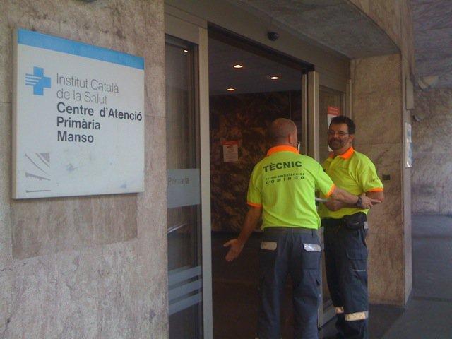 Entrada CAP Manso de Barcelona