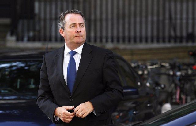El ministro de Defensa de Reino Unido, Liam Fox